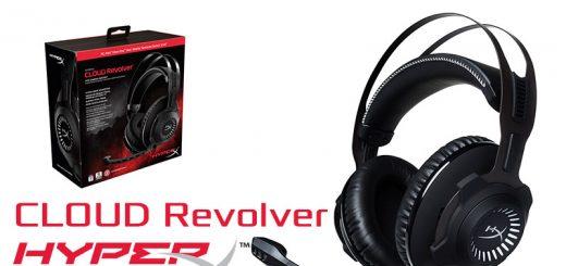 HyperX Cloud Revolver - Gunmetal
