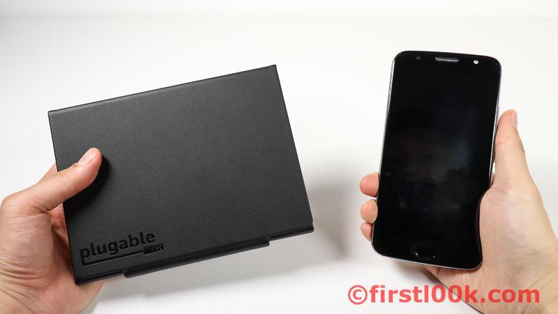 Plugable Bluetooth Keyboard size2phone