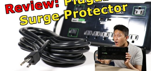 Plugable 12 Outlet Surge Protector