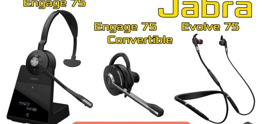 Jabra Evolve 75, Engage 75 (Convertible)