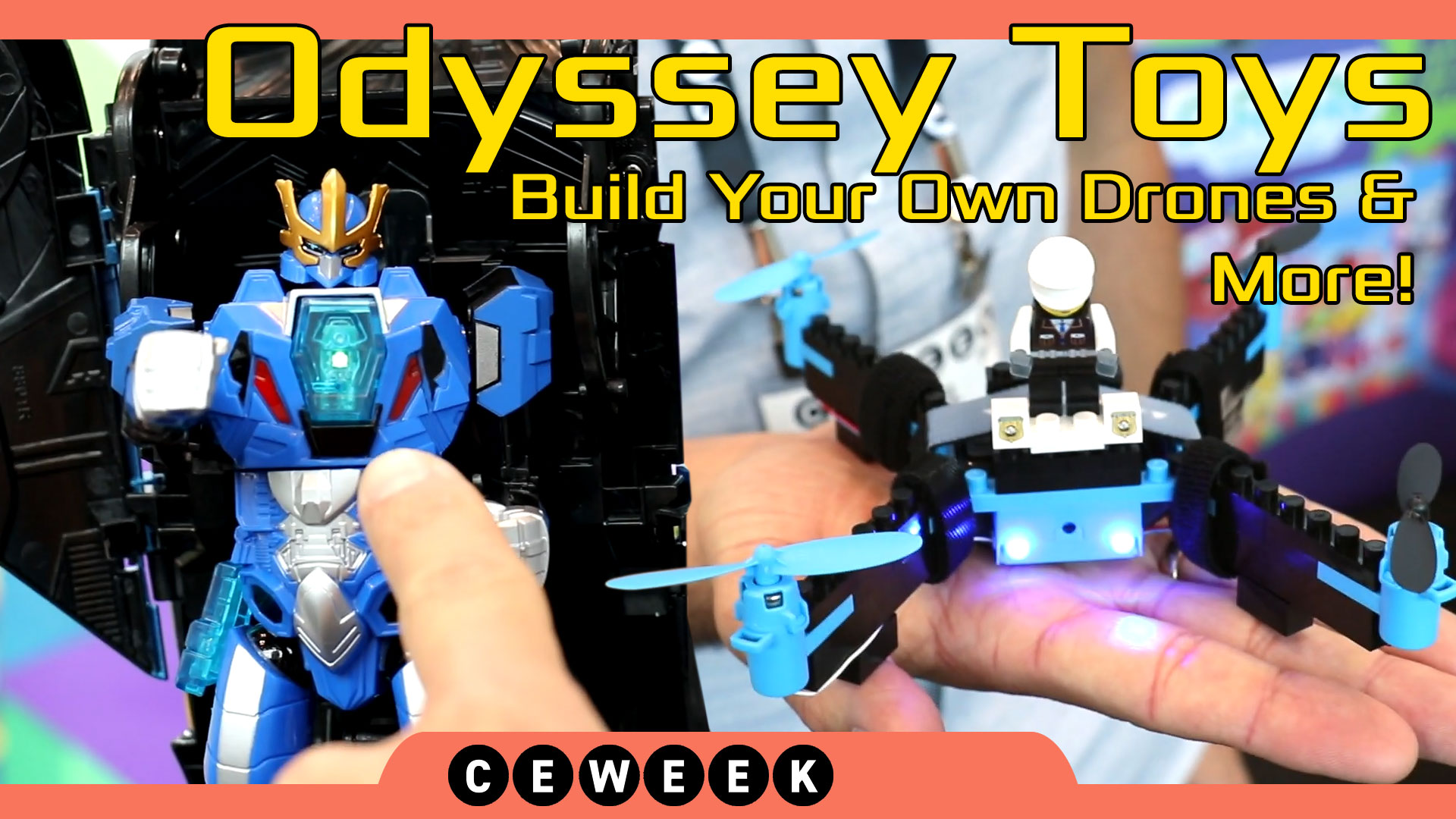 Odyssey Toys Build a Drone