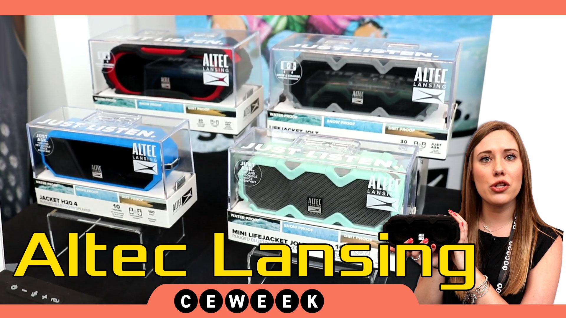 Altec Lansing CE Week 2018