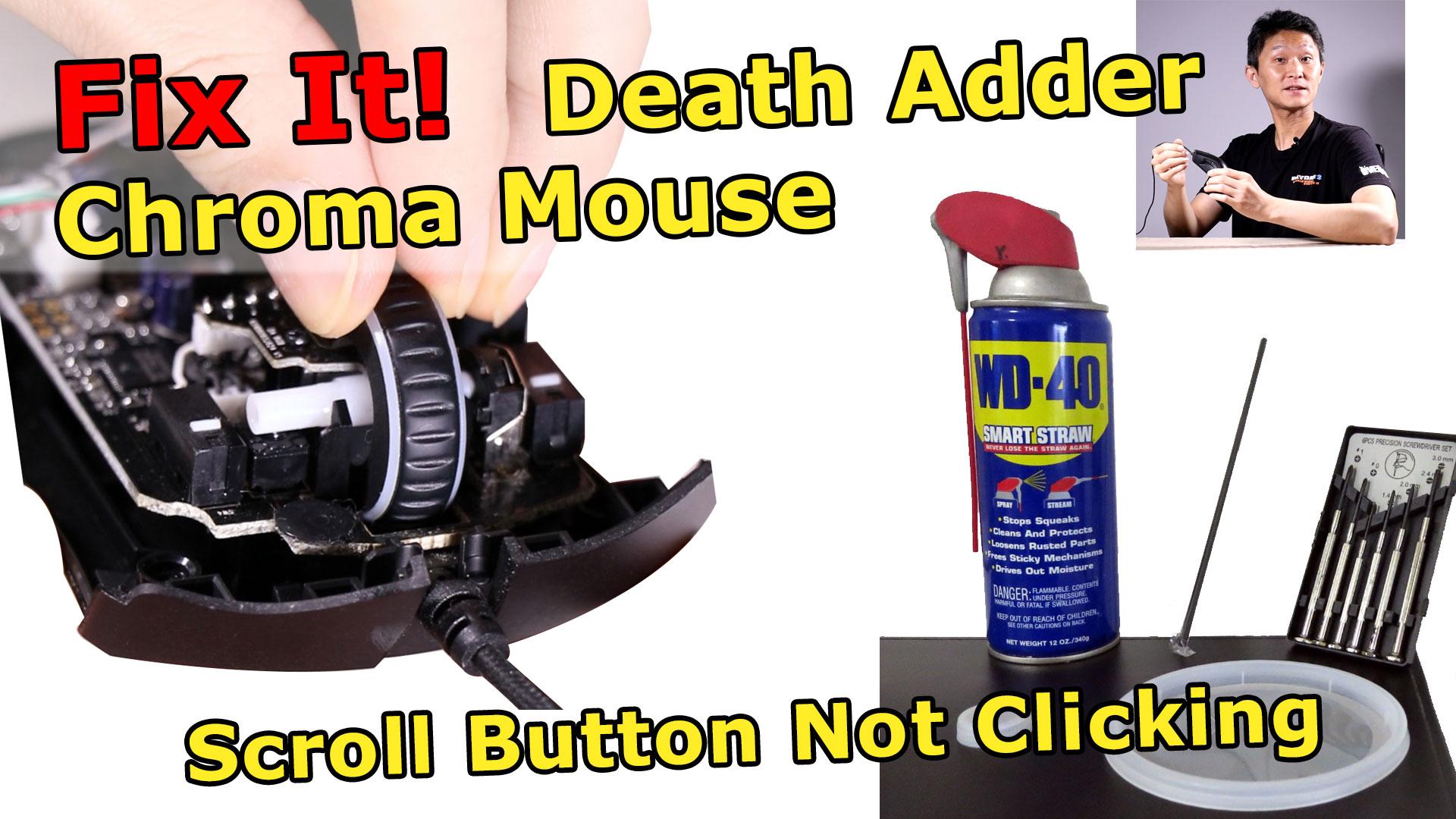 Razer Chroma Mouse Fix