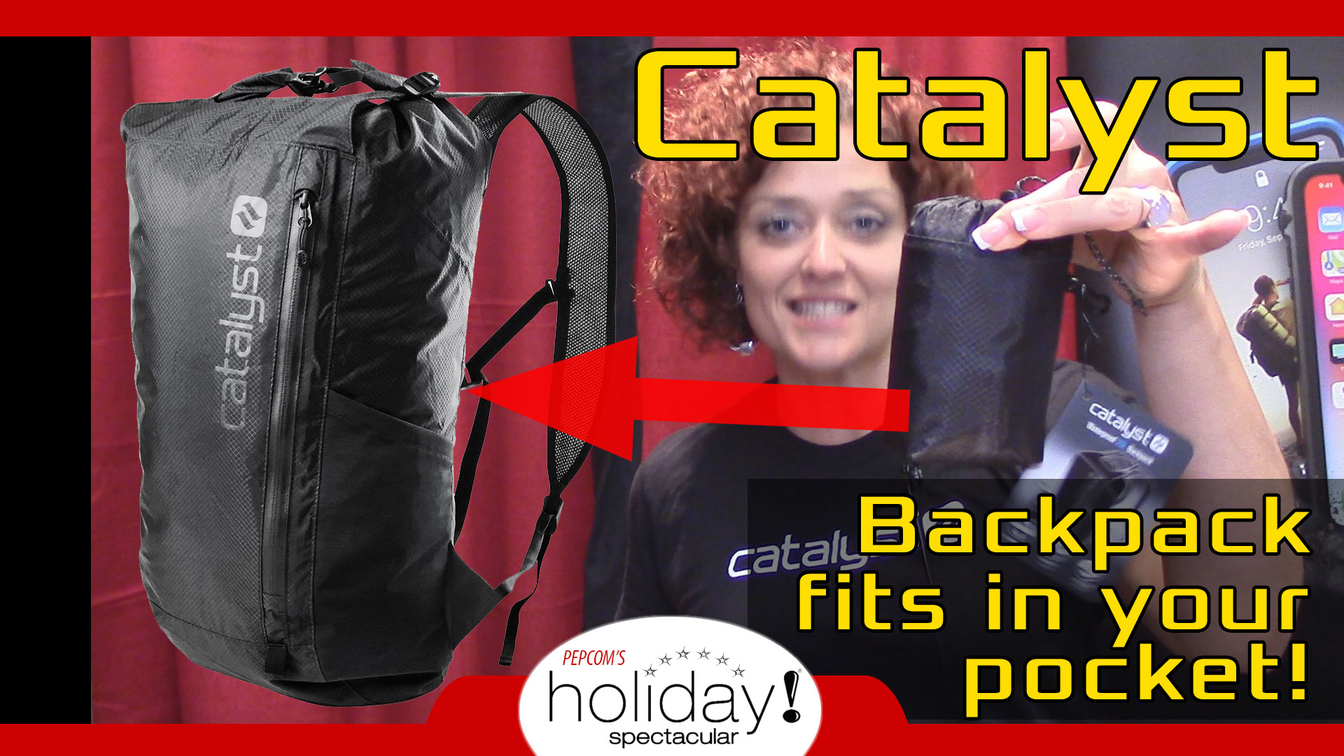 Catalyst Case tiny backpack