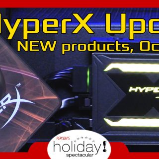 HyperX SSD and New Gaming Gear