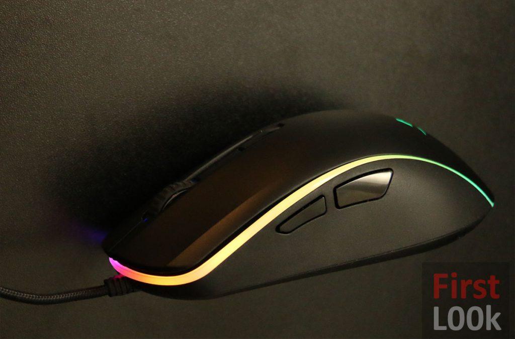 Hyperx Pulsefire Surge RGB side