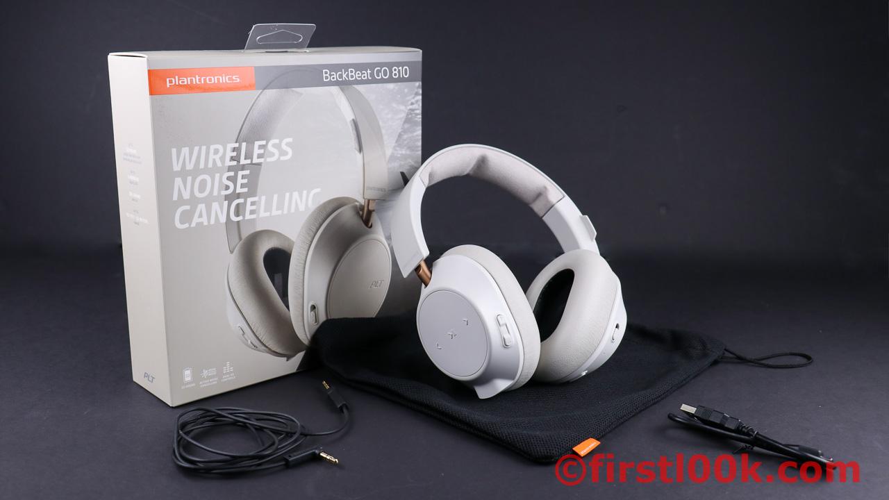 39647a90e3d Review: Plantronics Backbeat GO 810 ANC (Active Noise Cancelling ...
