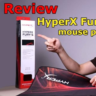 HyperX Fury S Speed Edition mousepad