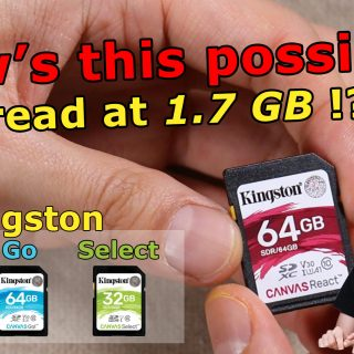 Kingston Canvas SD cards