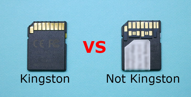 Kingston VS not Kingston