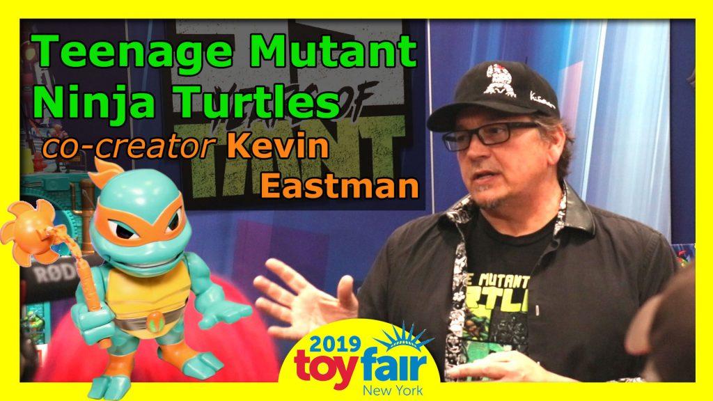 TMNT at Toy Fair 2019