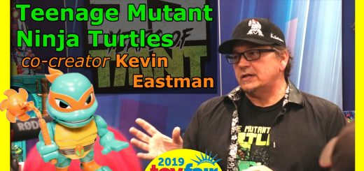 TMNT at Toy Fair 2019