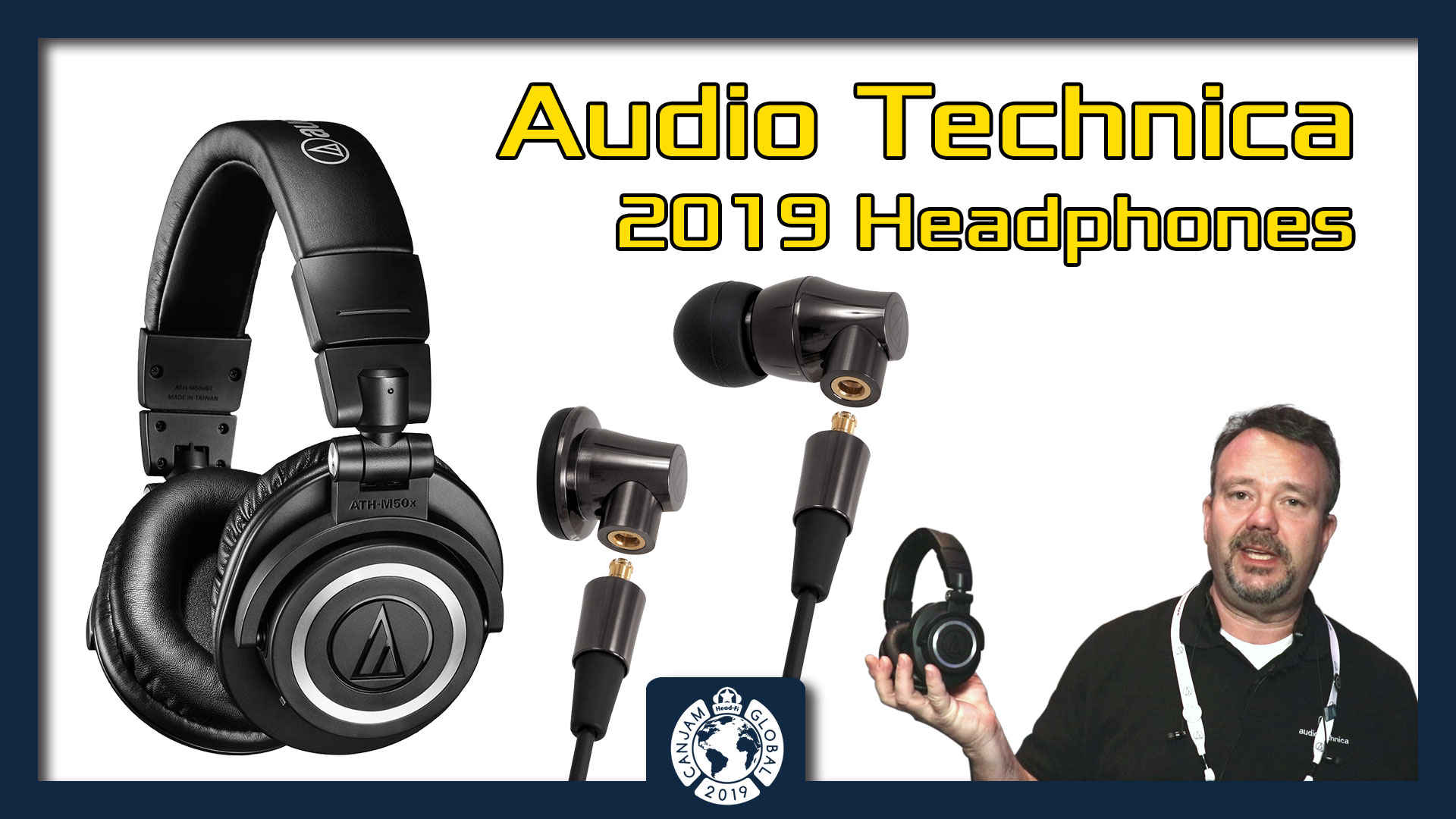 AudioTechnica 2019 Headphones