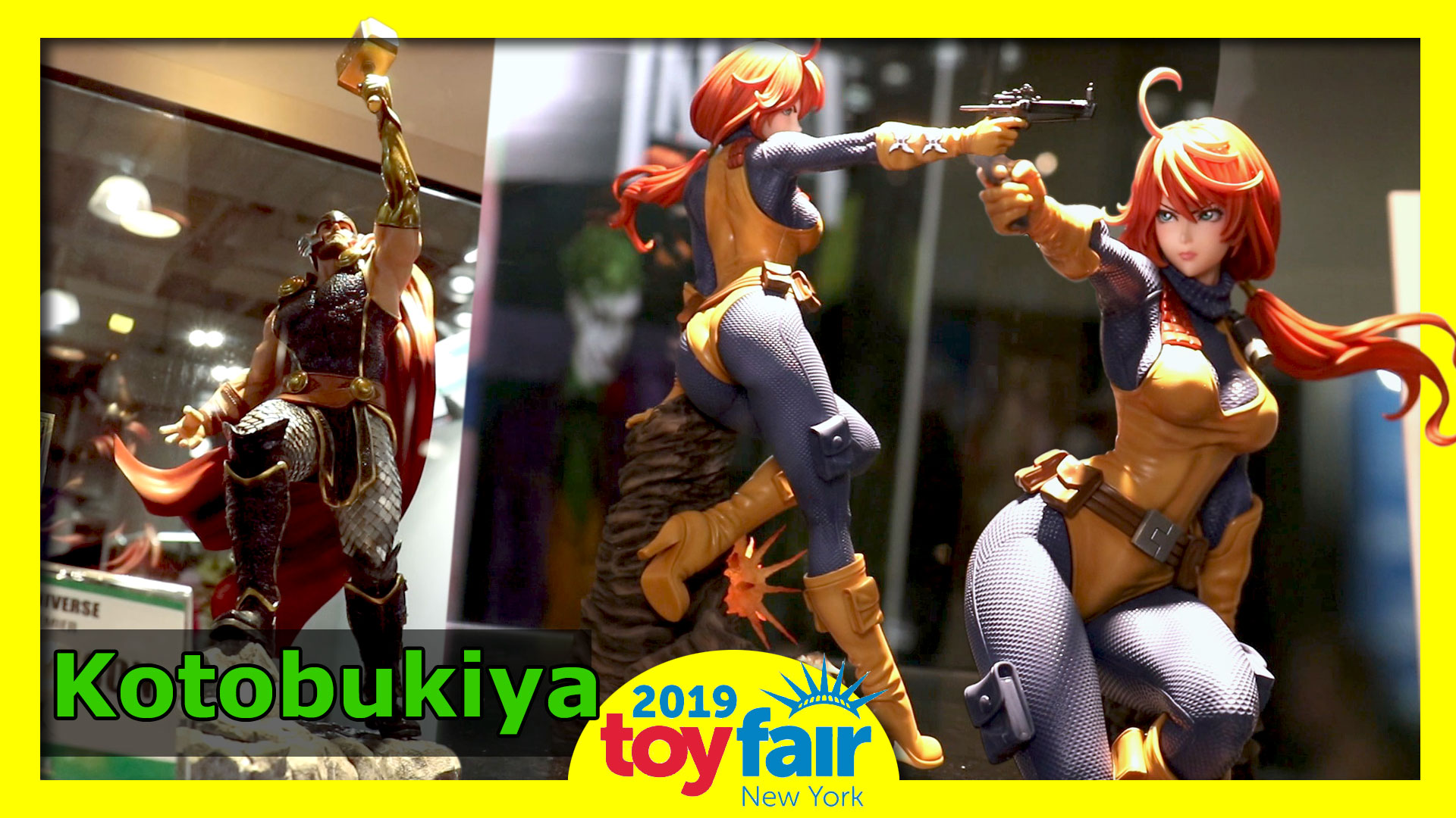 Kotobukiya @Toy Fair 2019
