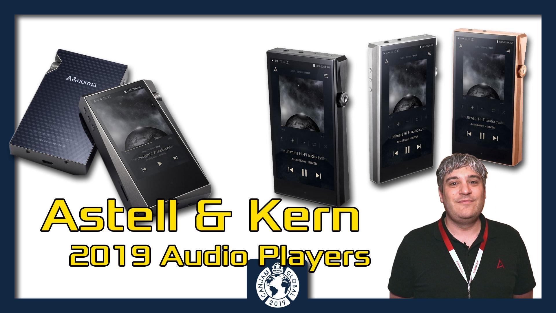 Astell & Kern 2019 Audio Players