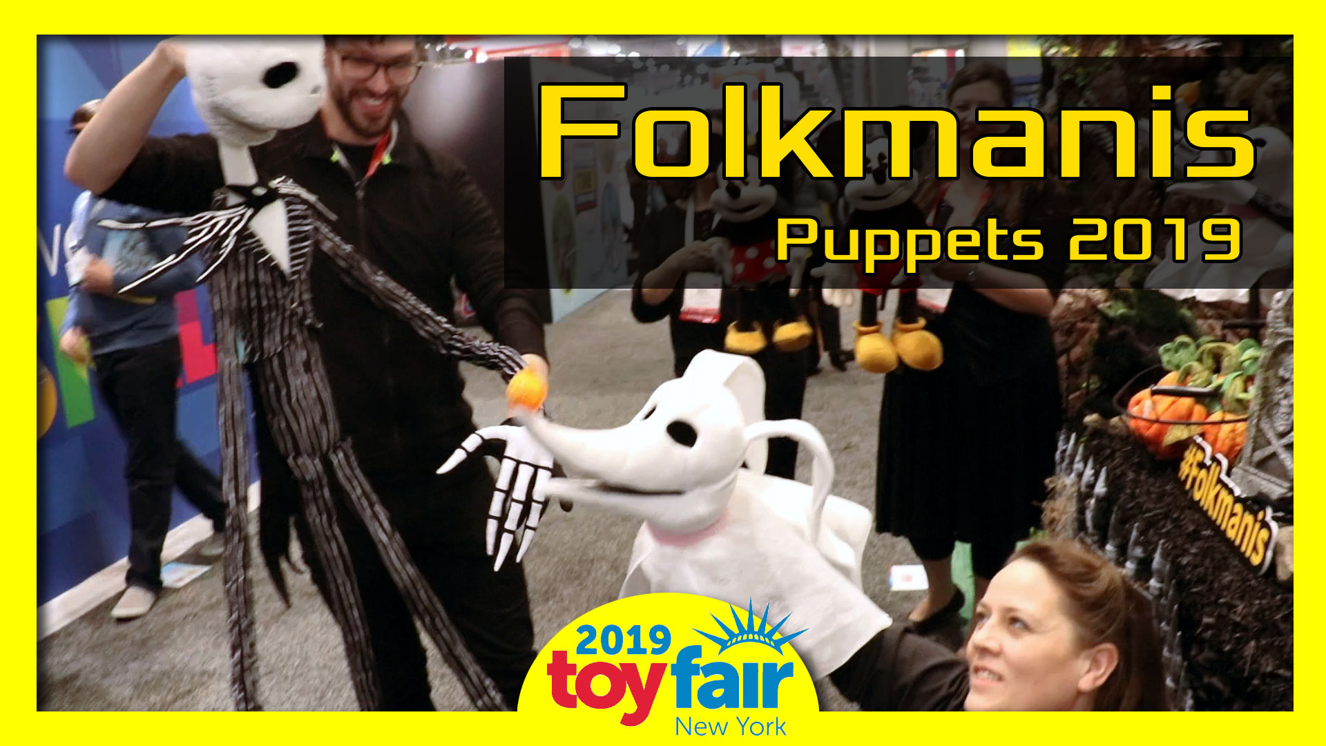 Folkmanis Puppets @Toy Fair 2019