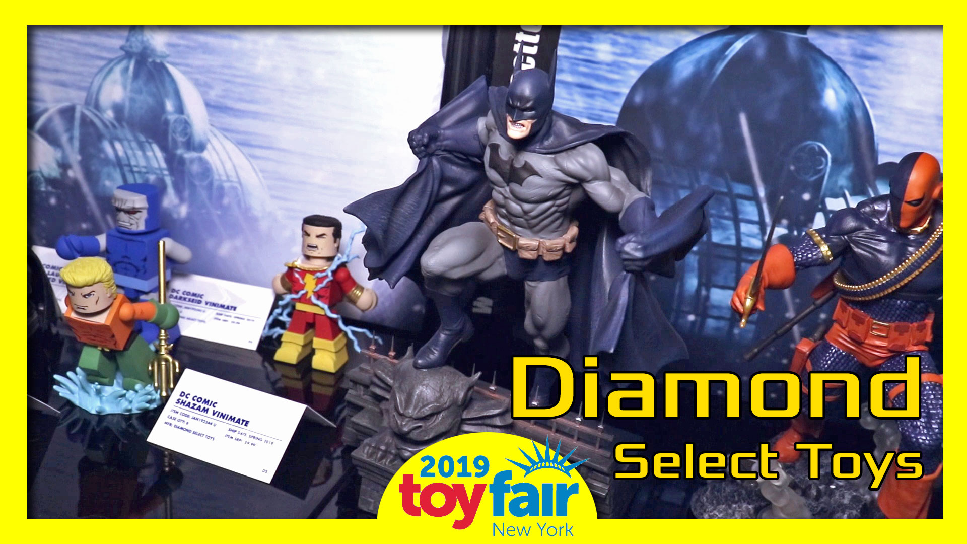 Diamond Select Toys @ToyFair 2019