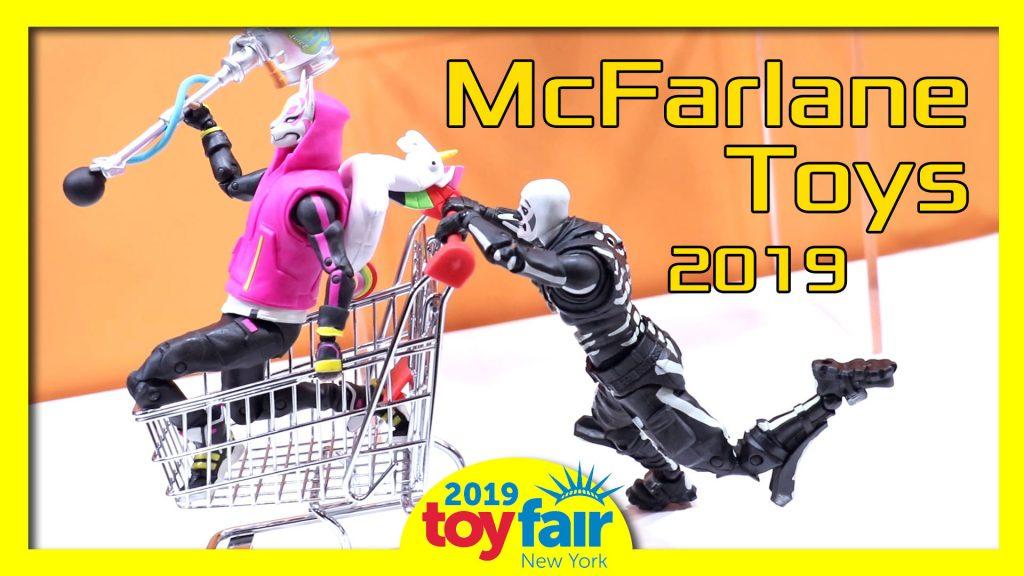 McFarlane Toys @Toyfair 2019