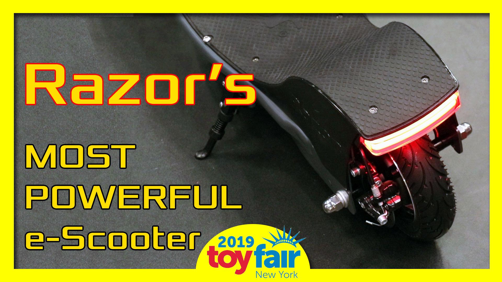 Razor e-scooters 2019