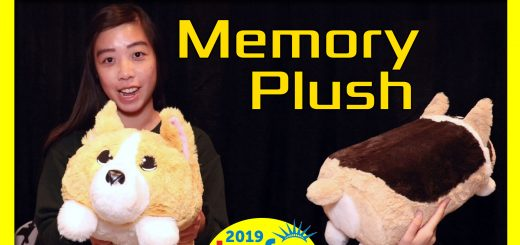 Memory Plush @Toyfair 2019