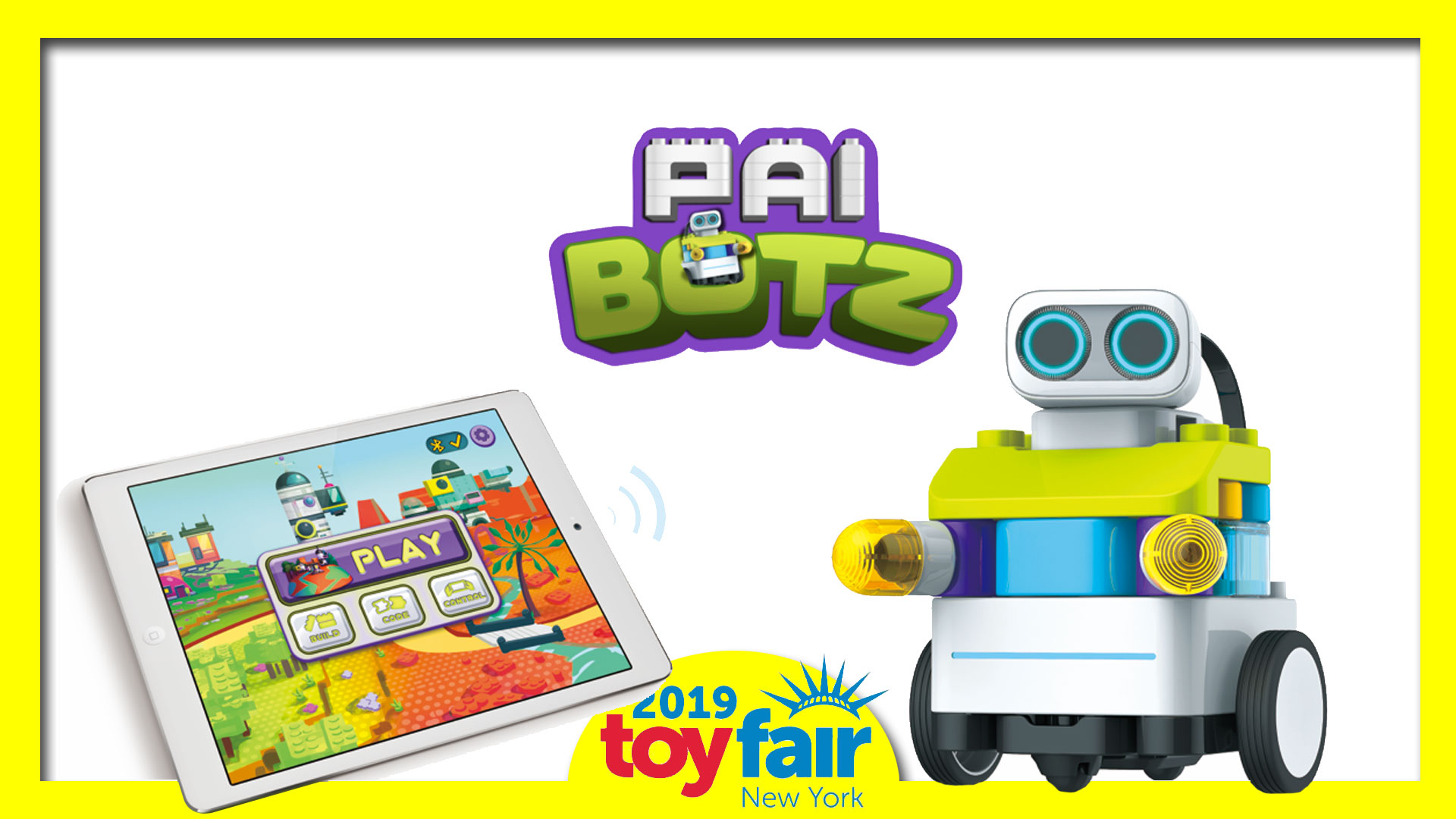 Paibotz @Toyfair 2019