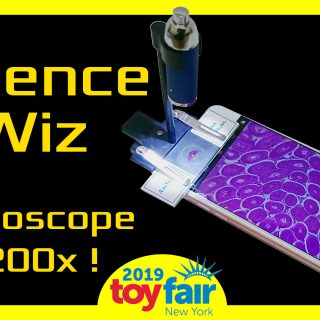Science Wiz Microscope @Toyfair 2019