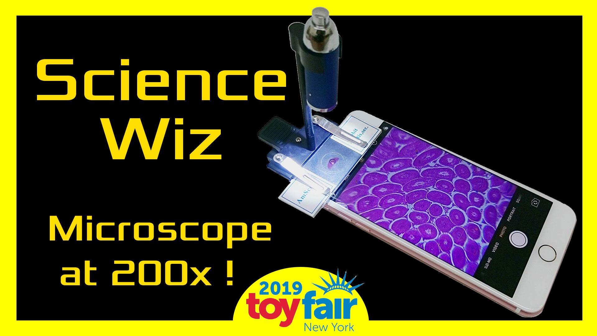 Science Wiz Microscope @Toyfair 2019