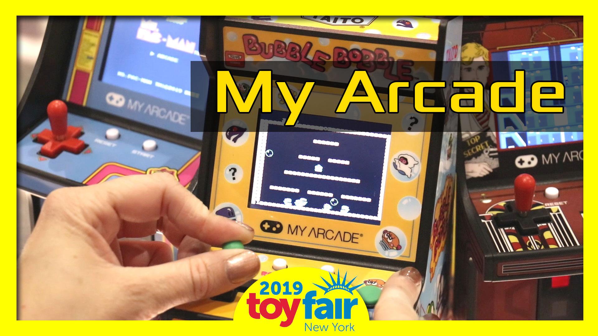 My Arcade @ToyFair 2019
