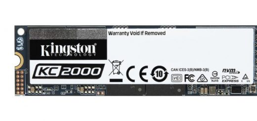 Kingston KC2000 SSD