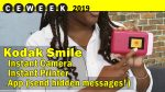 Kodak Instant Print Camera and Printer