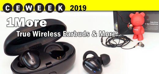 1More Headphones @CE Week 2019
