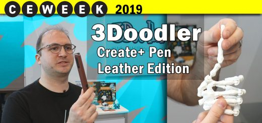 3doodler Create+ leather @CE Week 2019