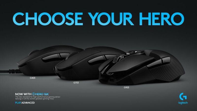Hero 16k Mouse Sensor