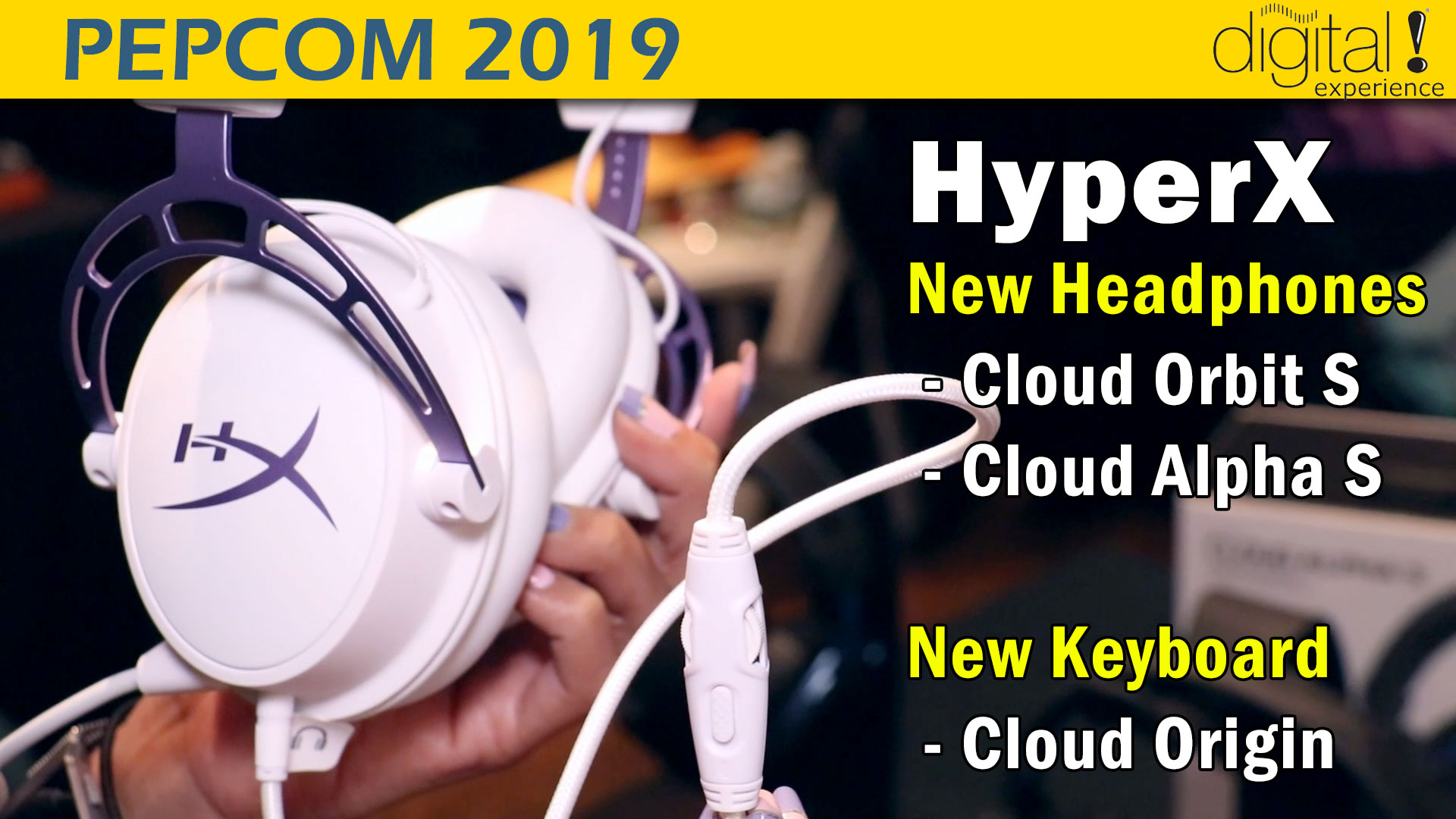 HyperX Cloud Orbit S & Cloud Origin