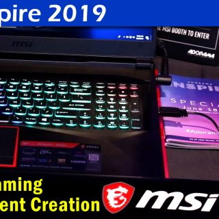 MSI 2019 Laptops