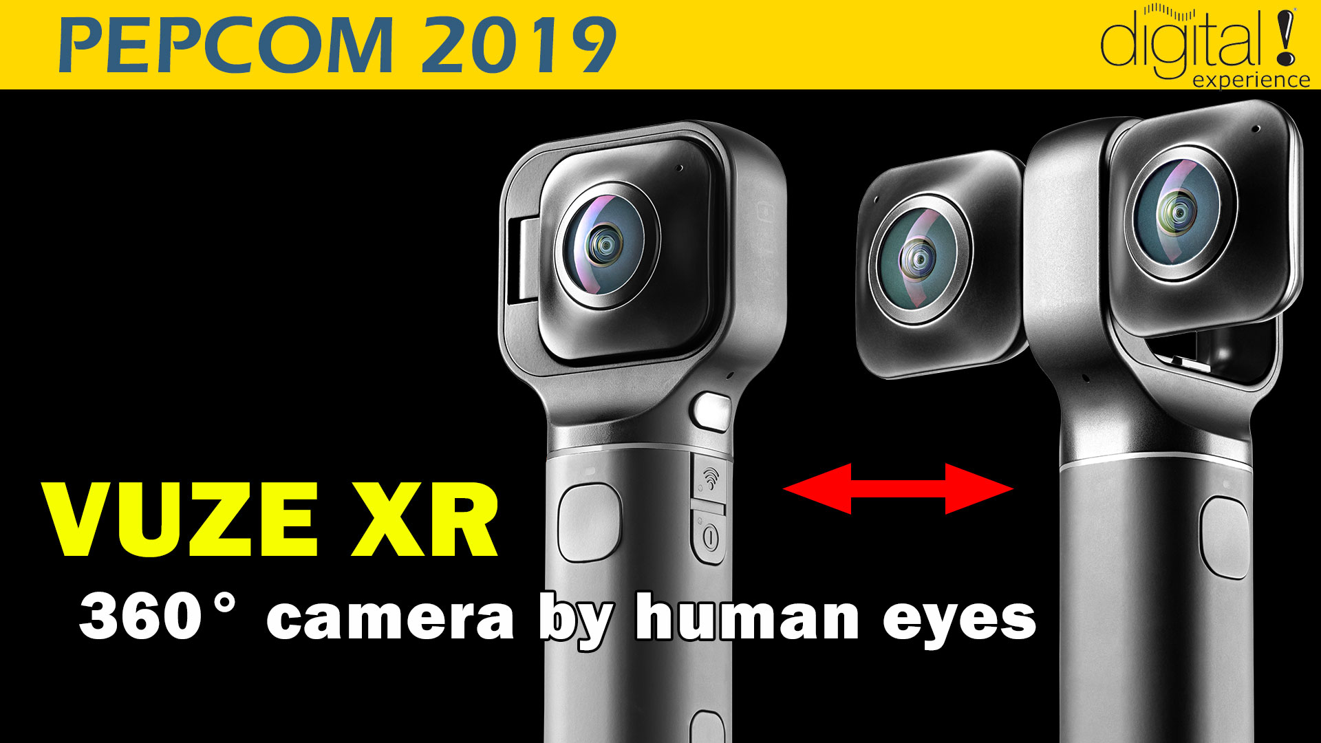 Vuze 360 degree camera