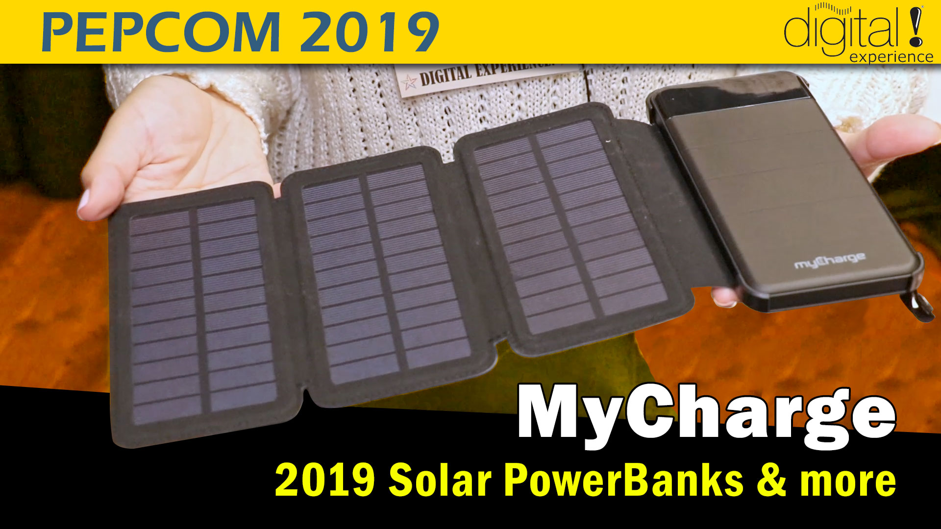 MyCharge Solar Powerbank