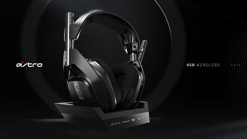 Astro A50 wireless gaming headset