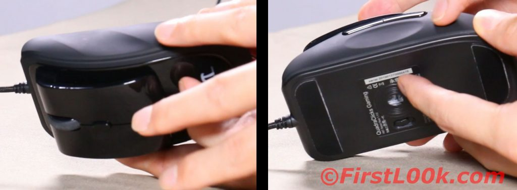 Mouse side grips