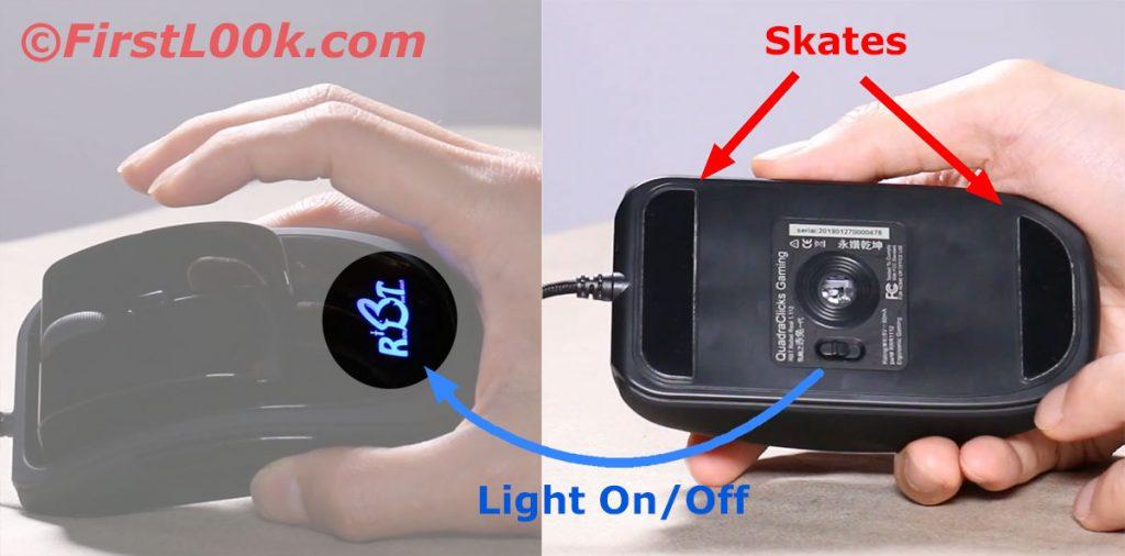 Skates & light switch
