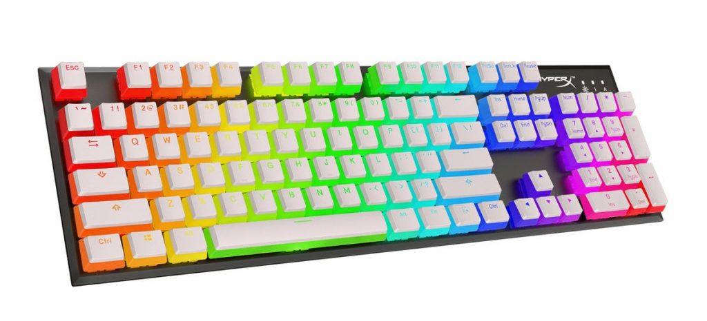 HyperX Doubleshot PBT White Keycaps