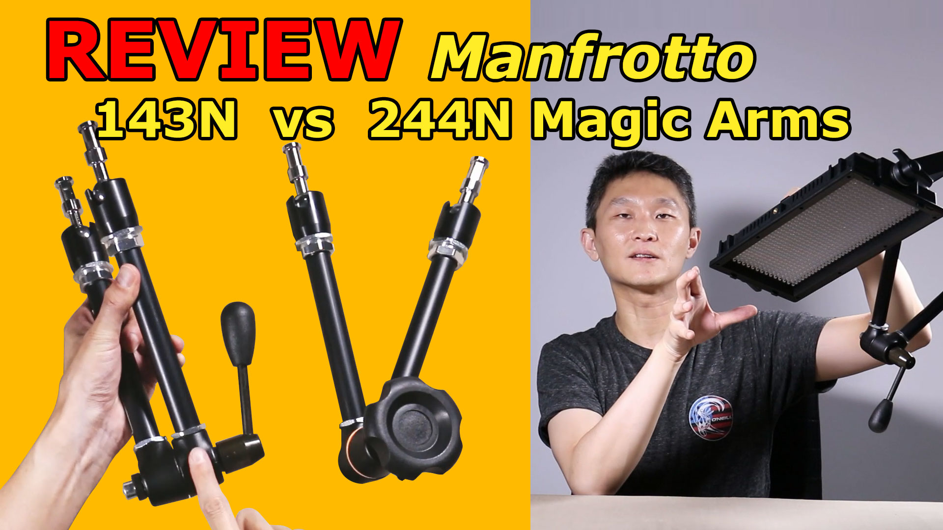 Manfrotto 143N & 244N - Magic arms