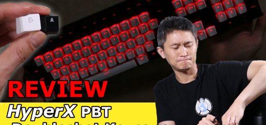 HyperX PBT Doubleshot Keycaps