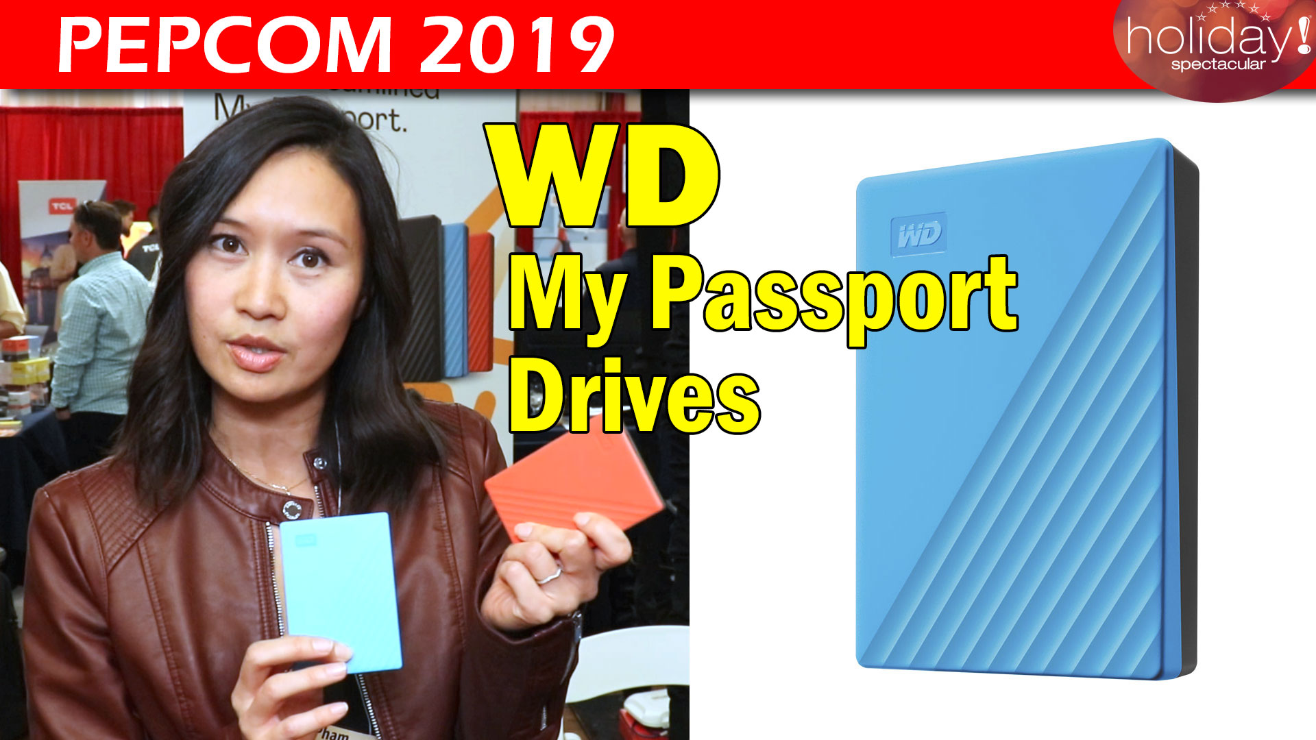 WD My Passport Drives
