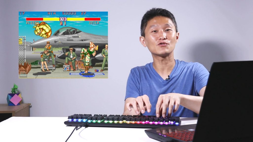N-key Rollover - playing SF2 with keyboard
