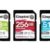Kingston Canvas SD cards