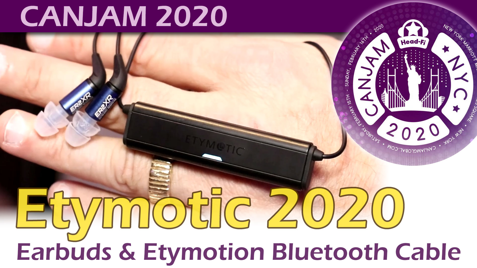 Etymotic @CanJam 2020