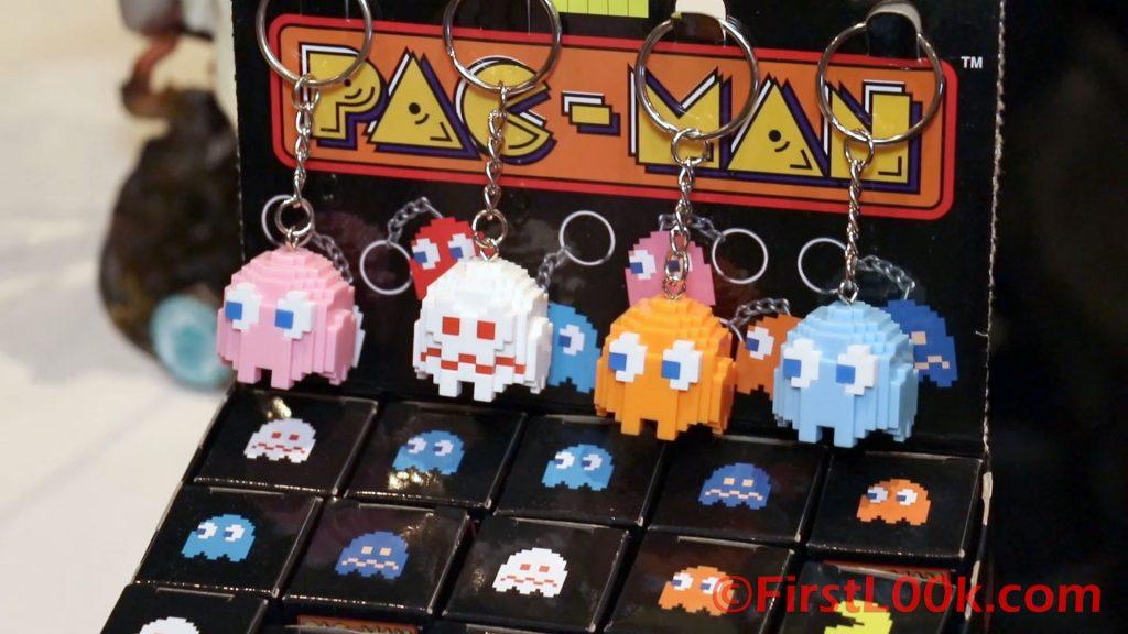Pure Arts Pacman keychain