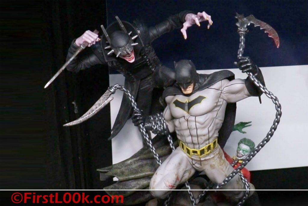 DC Direct Batman Who Laughs vs Batman