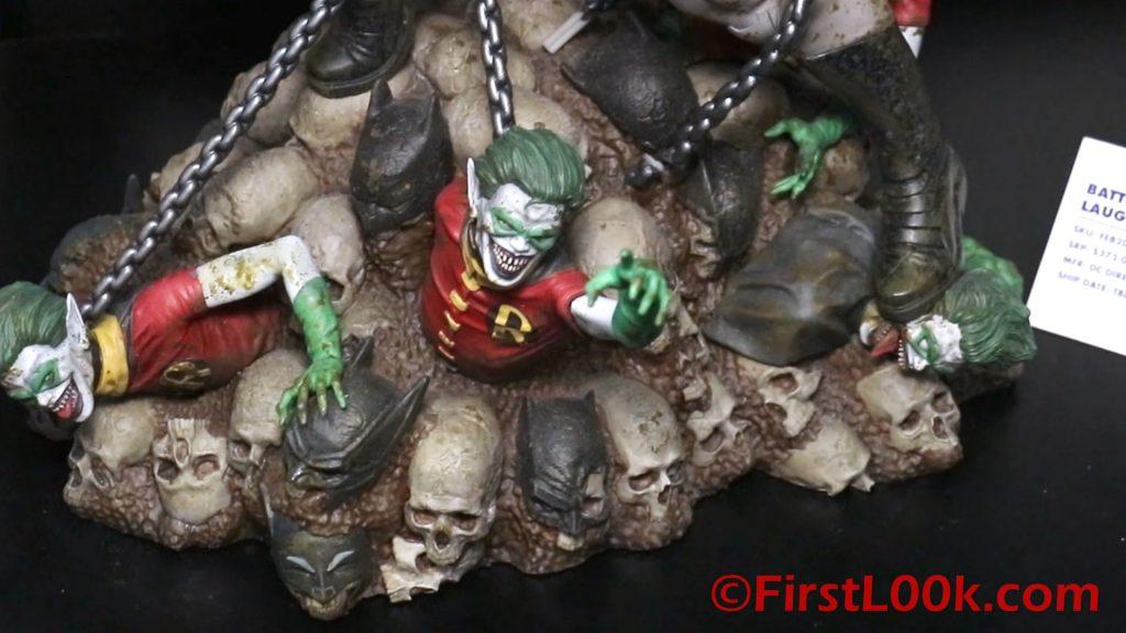 DC Direct Batman Who Laughs Base